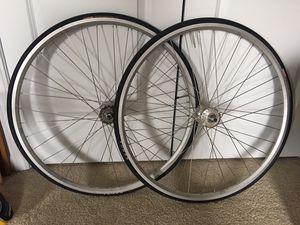 Weinmann bike wheels for Sale in Durham, NC