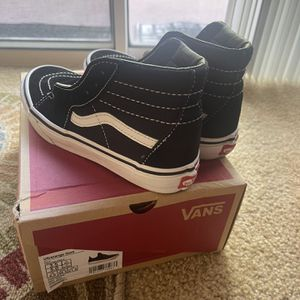 Youth Size 3.5 Vans High-Top Shoes for Sale in Modesto, CA