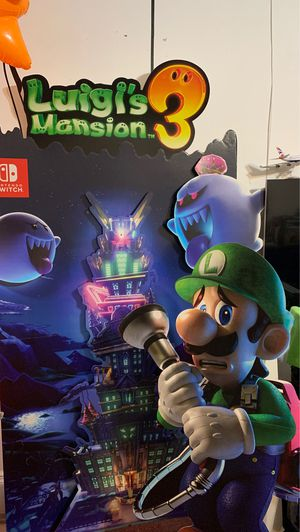 Luigi Mansion 3 standee display for Sale in Queens, NY