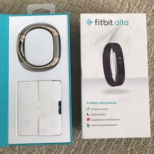 FitBit Alta Fitness Tracker for Sale in Denver, CO