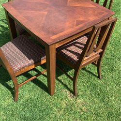 Wooden Dinner Table for Sale in Whittier,  CA