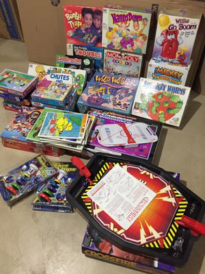 Children's Games and Puzzles Assortment for Sale in Naperville, IL