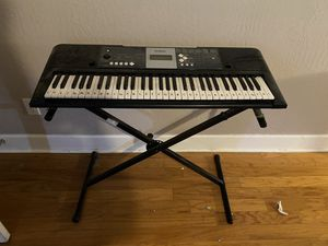 Electric Piano and Stand for Sale in Phoenix, AZ
