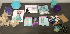 Little Mermaid Party Decorations for Sale in San Diego, CA