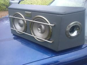 2 way car audio speakers and tape deck cheap for Sale in Santee, CA