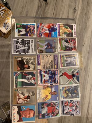 Assorted baseball players starting 1963 to today 2020 for Sale in Vallejo, CA