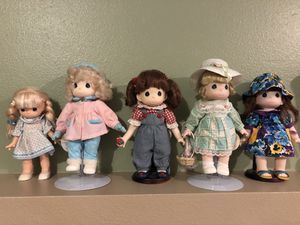 Precious moments doll with stands for Sale in Tacoma, WA