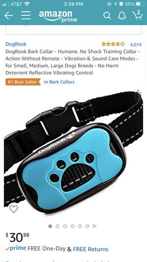 DogRook Bark Collar - vibration for Sale in San Francisco, CA