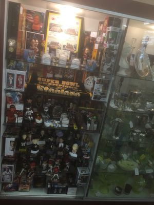 Bobbleheads, autographed baseballs, antiquities, baseball cards, toys and much more for Sale in Chandler, AZ