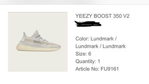 Yeezy Boost 350 Lundmark shoe sizes 5, 6,7,8 for Sale in Chicago, IL