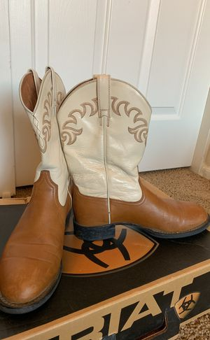 Arita Heritage Ivory & Tan Ropers. Size 6.5B for Sale in Scottsdale, AZ