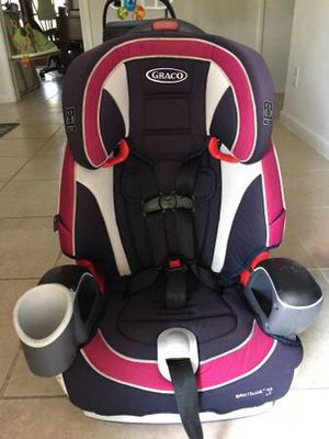 Used Graco Nautilus Car Seat to Booster 22-100lbs for Sale in West Palm Beach, FL