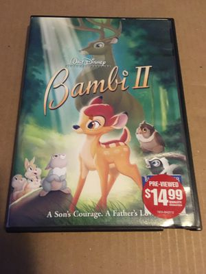 dvd disney bambi 2 for Sale in Los Angeles, CA