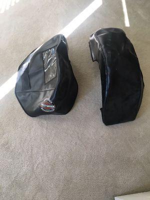 Harley Davidson saddlebag covers 2012 fatboy or dresser for Sale in Presto, PA