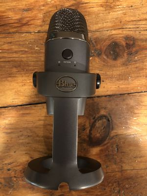 Blue yeti nano usb microphone for Sale in Silver Spring, MD