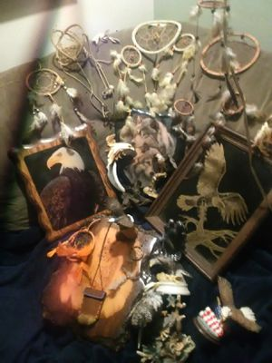 Lot of eagle and native items for Sale in Eugene, OR