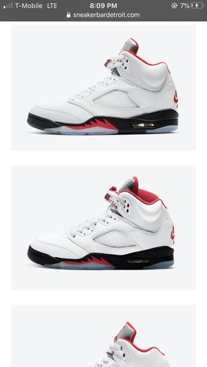 Jordan 5 Fire Red Size 8men for Sale in Los Angeles, CA
