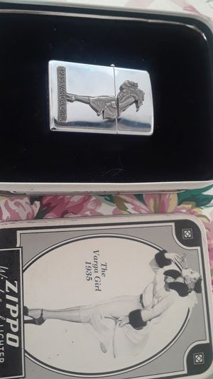 Zippo windproof lighter, 1935 vargara girl. for Sale in Chicago, IL