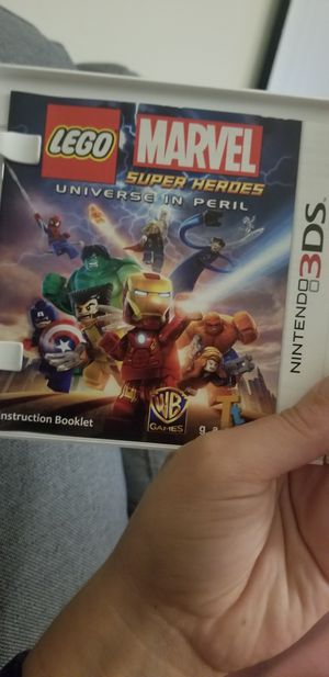 Nintendo 3DS game Lego super heroes for Sale in Woodbridge, VA