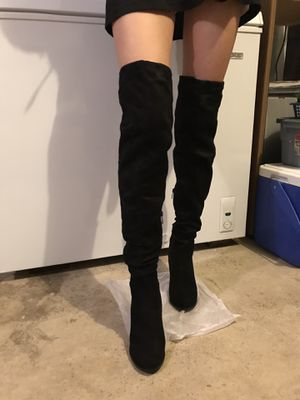 Thigh high boots for Sale in Wilsonville, OR