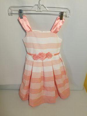 Bonnie Jean Pink White Stripe Dress size 5 for Sale in Atlanta, GA