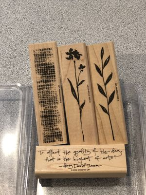 NEVER USED Stampin Up stamp set for Sale in MD, US