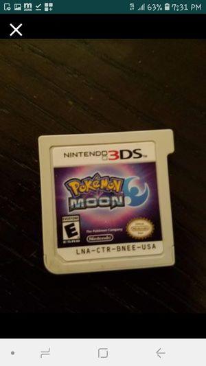 Nintendo 3ds pokemon moon for Sale in Davenport, FL