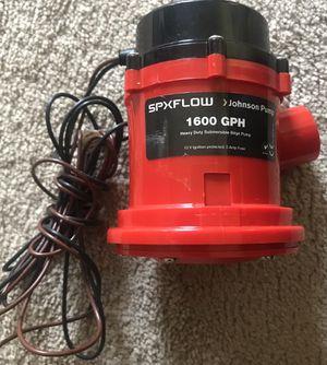 ohnson Pump 1600 Gph Bilge Pump for Sale in Lawrenceville, GA