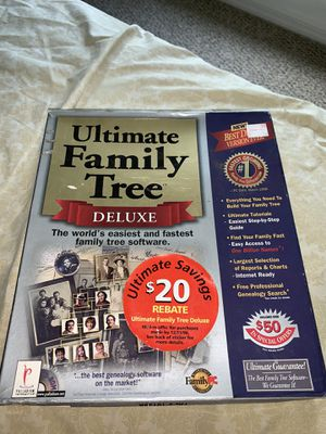 Ultimate Family Tree Creator for Computers for Sale in Melbourne Village, FL