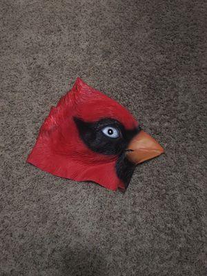 Cardinal head mask for Sale in Lodi, CA