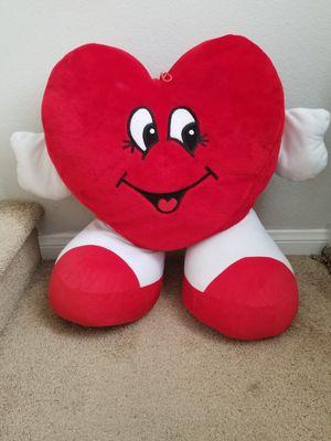 Big teddy bear heart for Sale in Las Vegas, NV
