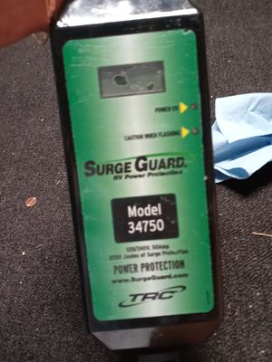 RV. SURGE PROTECTOR. 50 Amp. - LIKE NEW for Sale in Santee, CA
