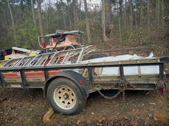 Trailer $800. ....LADDERS $50 each ......saws $100 -$350 all this stuff 1 mth old for Sale in Lawrenceville,  GA