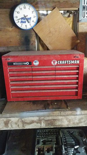 Craftsman hd 12 drawer locking for Sale in Howard, SD