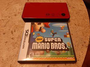 Super Mario Bros 25th Anniversary Nintendo DSi XL w/ New Super Mario Bros CIB for Sale in Lake Worth, FL