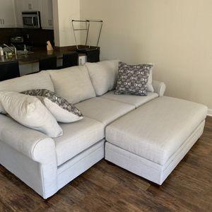 Sofa & Ottoman Set for Sale in Costa Mesa, CA