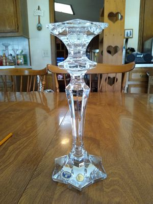 Crystal candle holder for Sale in Richardson, TX