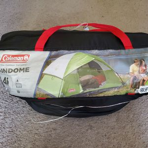 Coleman 4 Person Camping Sundome tent for Sale in Palmdale, CA