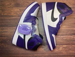 Jordan 1 Retro High Court purples size 11Men for Sale in Costa Mesa, CA