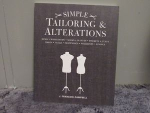 Simple Tailoring and Alterations Book for Sale in Kasson, WV