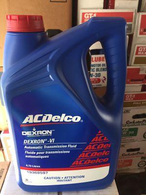 Ac delco original transmission oil Dexron 6 is $20 a Gallon Firm for Sale in Riverside, CA