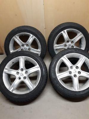 Dunlop Studless Winter tires 225/50 R17 on Lexus IS300 Rims for Sale in Menomonie, WI