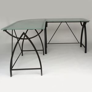 Frosted Glass Desk for Sale in Concord, CA