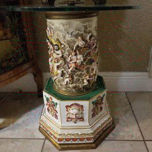 Antique porcelain capodimonte table for Sale in Miami, FL