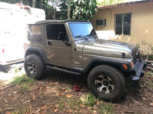 Jeep Wrangler 2003 for Sale in Miami, FL