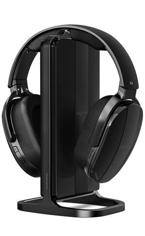 HSPRO Wireless TV Headphones, Over Ear Headsets with Wireless 2.4GHz RF Transmitter Charging Dock, Rechargeable Digital Stereo Headsets for Watching for Sale in Aldie, VA