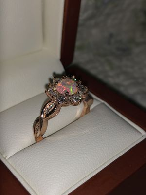 Engagement ring 14k rose gold plated for Sale in San Diego, CA