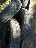 3 - 16in trailer tires load rangeE 10 ply W / aprox.70% tread left on them beads are in excellent shape no patches no plugs $100 for all 3 for Sale in Tampa, FL