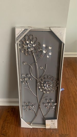 Flower wall piece for Sale in Durham, NC