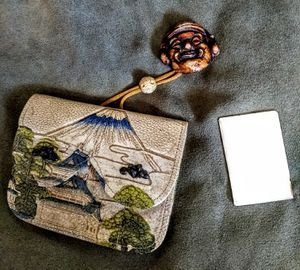 Antique japanese tobacco pouch for Sale in Seattle, WA